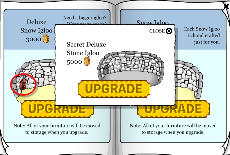 Club Penguin Igloo Catalog Cheats